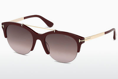 Gafas de visión Tom Ford Adrenne (FT0517 69T) - Borgoña, Bordeaux, Shiny
