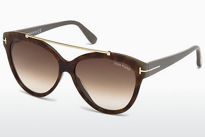 Gafas de visión Tom Ford Livia (FT0518 53F) - Havanna, Yellow, Blond, Brown