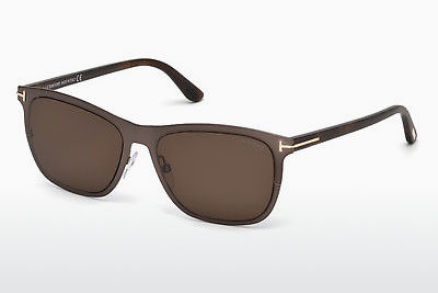 Gafas de visión Tom Ford Alasdhair (FT0526 48J) - Marrones, Dark, Shiny