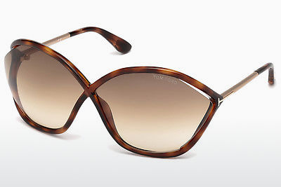 Gafas de visión Tom Ford Bella (FT0529 53F) - Havanna, Yellow, Blond, Brown