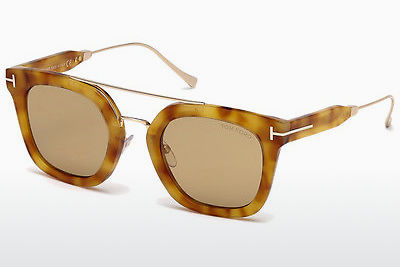 Gafas de visión Tom Ford Alex (FT0541 53E) - Havanna, Yellow, Blond, Brown