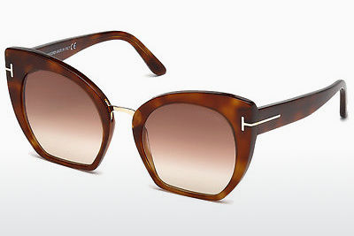Gafas de visión Tom Ford Samantha (FT0553 53F) - Havanna, Yellow, Blond, Brown