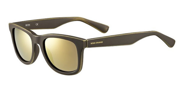 Boss Orange BO 0213/S 9EN/HJ GUN METAL FLBRW OCHRE