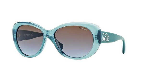 Vogue VO2868SB 219648 BLUE GRADIENTOPAL AQUA GREEN