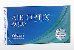 Lentes de contacto Alcon AIR OPTIX AQUA (AIR OPTIX AQUA AOA3)