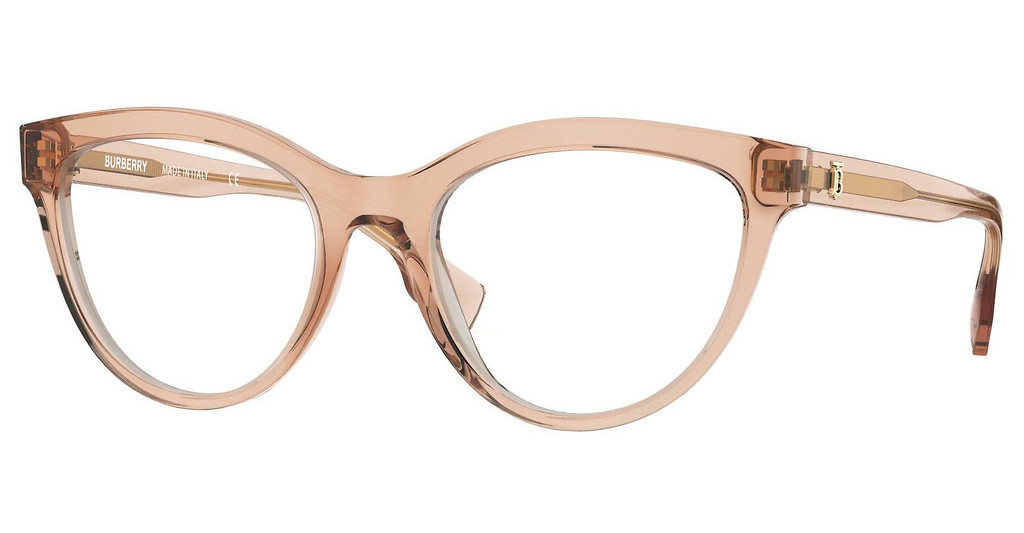 Burberry   BE2311 3358 TRANSPARENT PEACH