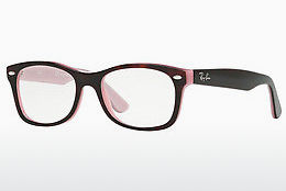 Gafas de diseño Ray-Ban Junior RY1528 3580 - Marrones, Havanna