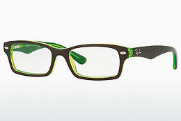 Gafas de diseño Ray-Ban Junior RY1530 3665 - Marrones, Verdes