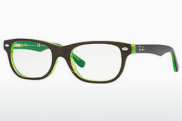 Gafas de diseño Ray-Ban Junior RY1555 3665 - Marrones