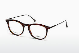 Gafas de diseño Tod's TO5187 054 - Havanna, Red