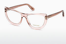 Gafas de diseño Tom Ford FT5519 072 - Oro, Rosa