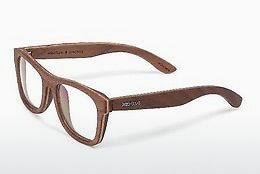 Gafas de diseño Wood Fellas Stachus (10718 walnut)