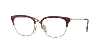 Burberry BE1334 1292 LIGHT GOLD/BORDEAUX