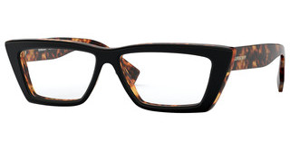 Burberry BE2305 3810 TOP BLACK ON HAVANA