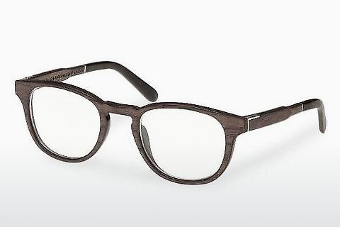 Gafas de diseño Wood Fellas Bogenhausen (10911 black oak)