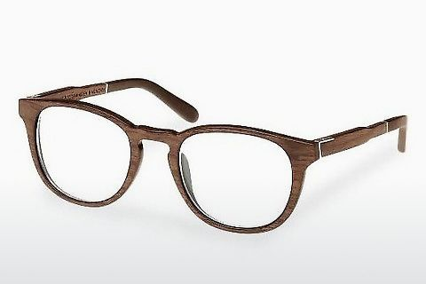Gafas de diseño Wood Fellas Bogenhausen (10911 walnut)