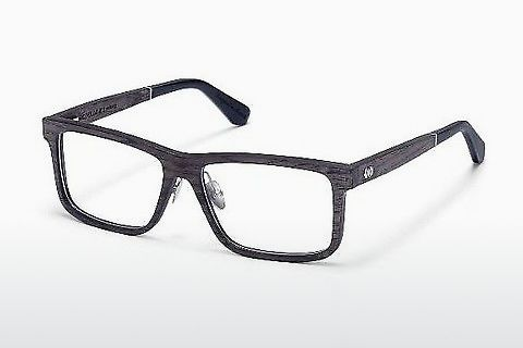 Gafas de diseño Wood Fellas Eisenberg (10943 black oak)