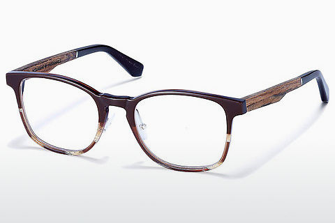 Gafas de diseño Wood Fellas Friedenfels (10975 walnut)