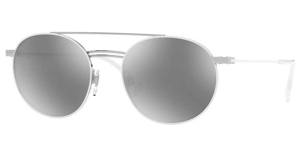Burberry   BE3109 12946G LIGHT GREY MIRROR SILVERSILVER/MATTE WHITE