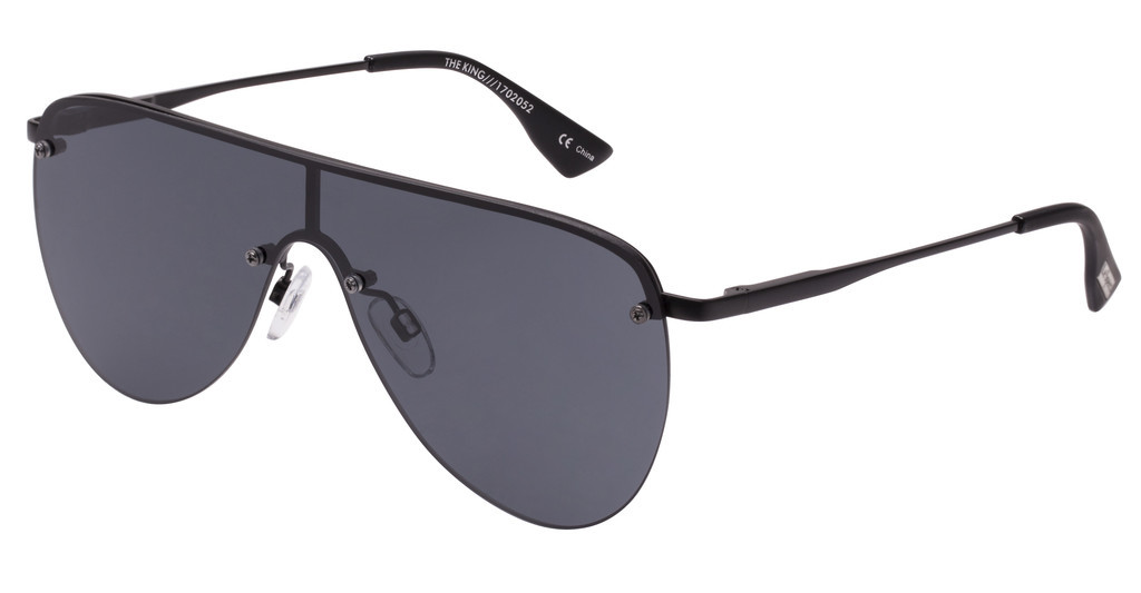 Le Specs   THE KING LSP1702052 SMOKE MONOMATTE BLACK