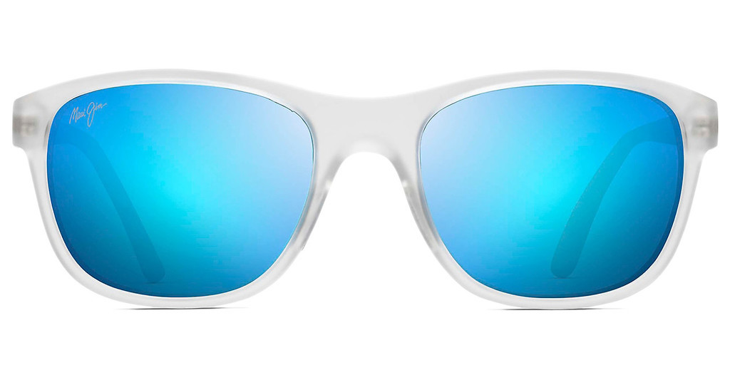 Maui Jim   Wakea B745-05CM Blue HawaiiFrosted Crystal