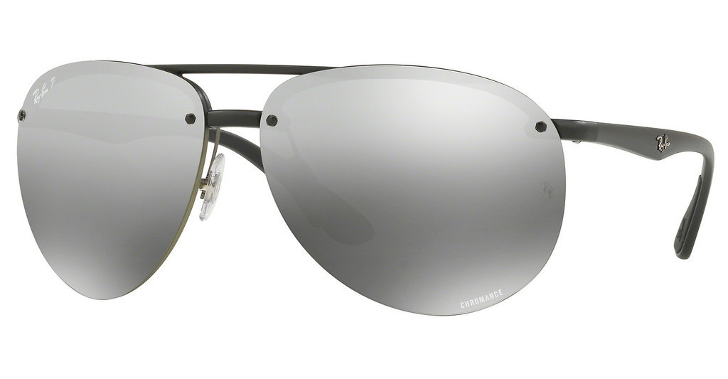 Ray-Ban   RB4293CH 601S5J GREY MIR GREY GRADIENT POLARMATTE BLACK