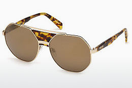 Gafas de visión Just Cavalli JC828S 53G - Havanna, Yellow, Blond, Brown