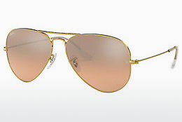Gafas de visión Ray-Ban AVIATOR LARGE METAL (RB3025 001/3E)