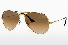 Gafas de visión Ray-Ban AVIATOR LARGE METAL (RB3025 001/51)