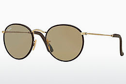 Gafas de visión Ray-Ban ROUND CRAFT (RB3475Q 112/53) - Oro, Marrones