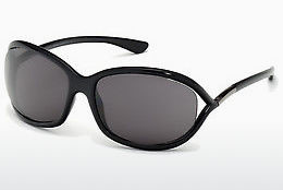 Gafas de visión Tom Ford Jennifer (FT0008 199) - Negras, Shiny