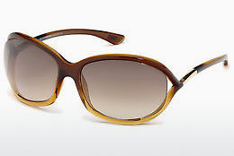 Gafas de visión Tom Ford Jennifer (FT0008 50F) - Marrones, Dark