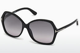 Gafas de visión Tom Ford Carola (FT0328 01B) - Negras, Shiny