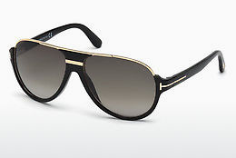Gafas de visión Tom Ford Dimitry (FT0334 01P) - Negras, Shiny