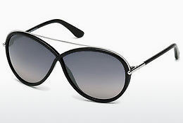 Gafas de visión Tom Ford Tamara (FT0454 01C) - Negras, Shiny