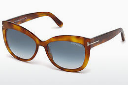 Gafas de visión Tom Ford Alistair (FT0524 53W) - Havanna, Yellow, Blond, Brown