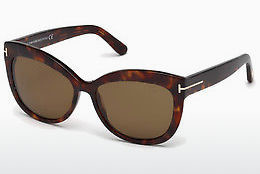 Gafas de visión Tom Ford Alistair (FT0524 54H) - Havanna, Red