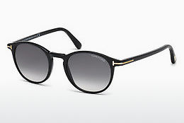 Gafas de visión Tom Ford Andrea (FT0539 01B) - Negras, Shiny