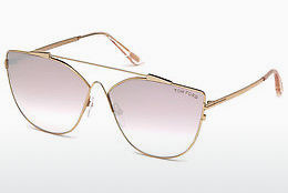 Gafas de visión Tom Ford FT0563 33Z - Oro