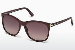Gafas de visión Tom Ford FT0567 69T - Borgoña, Bordeaux, Shiny