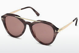 Gafas de visión Tom Ford FT0576 55Z - Policromas, Marrones, Havanna