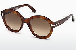 Gafas de visión Tom Ford FT0611 53F - Havanna, Yellow, Blond, Brown