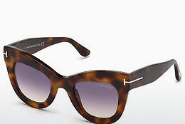 Gafas de visión Tom Ford FT0612 53Z - Havanna, Yellow, Blond, Brown
