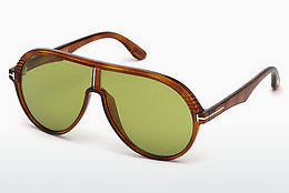 Gafas de visión Tom Ford FT0647 53N - Havanna, Yellow, Blond, Brown