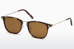 Gafas de visión Tom Ford FT0672 53E - Havanna, Yellow, Blond, Brown