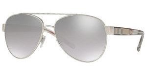 Burberry BE3084 10056V LIGHT GREY MIRROR GRAD SILVERSILVER