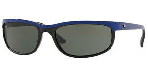 Ray-Ban RB2027 6301 GREENTOP BLUE ON BLACK