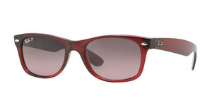 Ray-Ban RB2132 843/77 CRYSTAL POLAR BLUE GRAD. PINKBROWN GRADIENT ON ANTIQUE PINK