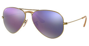 Ray-Ban RB3025 167/4K LILLAC MIRRORDEMIGLOS BRUSCHED BRONZE