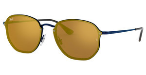 Ray-Ban RB3579N 90387J DARK ORANGE MIRROR GOLDBLUE